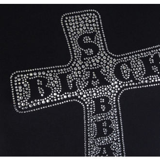 Damen Metal T-Shirt Black Sabbath - Cross - ROCK OFF, ROCK OFF, Black Sabbath