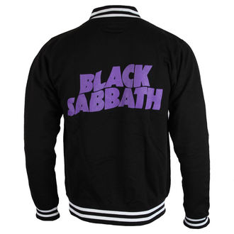 Herren Sweatshirt (ohne Kapuze) Black Sabbath - Wavy Logo - ROCK OFF, ROCK OFF, Black Sabbath