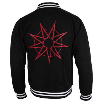 Herren Sweatshirt (ohne Kapuze) Slipknot - LOGO & 9 POINT STAR - ROCK OFF, ROCK OFF, Slipknot