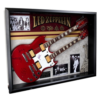 Gitarre mit Autogramm von Led Zeppelin - ANTIQUITIES CALIFORNIA, ANTIQUITIES CALIFORNIA, Led Zeppelin