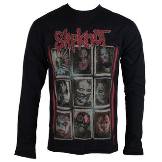 Herren Longsleeve Metal Slipknot - New Mass - ROCK OFF, ROCK OFF, Slipknot