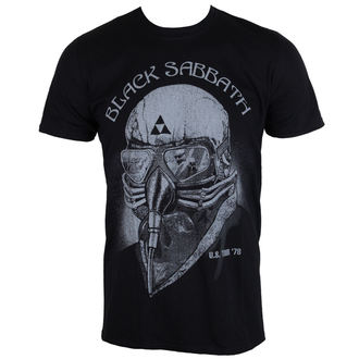 Herren Metal T-Shirt Black Sabbat - Black - ROCK OFF, ROCK OFF, Black Sabbath