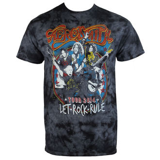 Herren T-Shirt Metal Aerosmith - Group Shield - BAILEY, BAILEY, Aerosmith