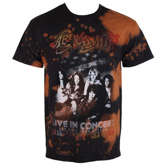 Herren T-Shirt Metal Aerosmith - Bad Boys Boston - BAILEY, BAILEY, Aerosmith