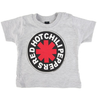Kinder T-Shirt Metal Red Hot Chili Peppers - Logo in Circle - - PRO059