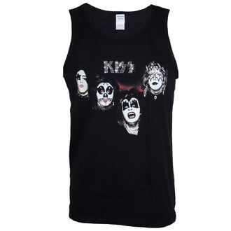 Herren Tanktop Kiss - 1974 - LOW FREQUENCY, LOW FREQUENCY, Kiss