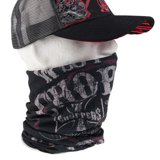 Bandana Halstuch Coast Choppers - EL DIABLO - SCHWARZ, West Coast Choppers
