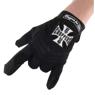 Handschuhe West Coast Choppers - RIDING - SCHWARZ, West Coast Choppers