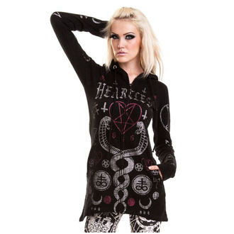 Damen Sweatshirt HEARTLESS - KAAMOS - SCHWARZ, HEARTLESS