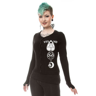 Damen Pullover HEARTLESS - HEAVEN - SCHWARZ, HEARTLESS