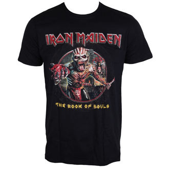 Herren T-Shirt Metal Iron Maiden - Book Of Souls - ROCK OFF - IMTEE61MB