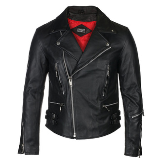 Lederjacke - Defector Blk Nick - STRAIGHT TO HELL, STRAIGHT TO HELL