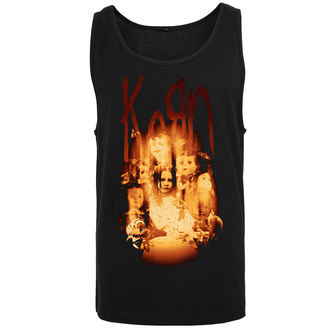 Herren Tanktop Korn - Face in the Fire, NNM, Korn