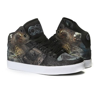 Damen High Top Sneakers - Nyc 83 Vulc Huit/Skull/Army - OSIRIS, OSIRIS