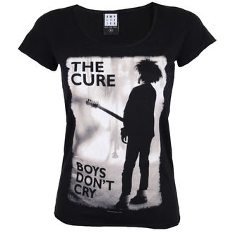 Damen T-Shirt Metal THE CURE - BOYS DON'T CRY - AMPLIFIED, AMPLIFIED, Cure