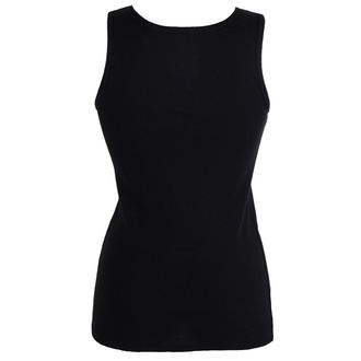 Damen Tanktop BLACK HEART - RAT BASTARD - SCHWARZ, BLACK HEART