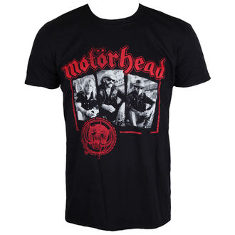 Herren T-Shirt Metal Motörhead - Stamped - ROCK OFF - MHEADTEE40MB