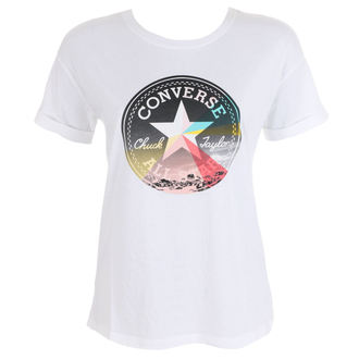 Damen Street T-Shirt - New Wave Cp Easy - CONVERSE, CONVERSE