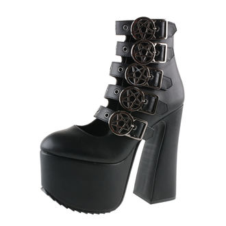 Damen Schuhe KILLSTAR - Burial - Black, KILLSTAR
