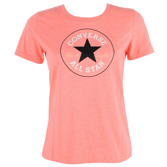 Damen Street T-Shirt - CORE SOLID CHUCK PATCH - CONVERSE, CONVERSE