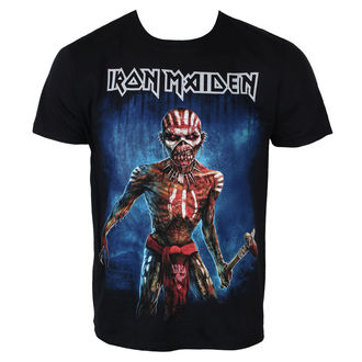 Herren T-Shirt Metal Iron Maiden - Black - ROCK OFF, ROCK OFF, Iron Maiden