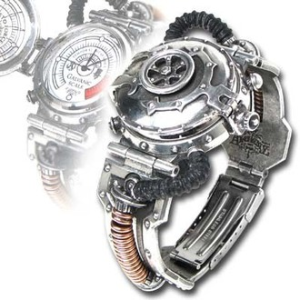 Armbanduhr EER Steam-Powered Entropy Calibrator AW15 - Alchemy Gothic