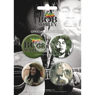 Button - BOB MARLEY - BP0056 - GB posters