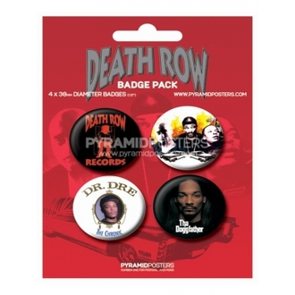 Button Death Row Records - BP80085 - Pyramid Posters