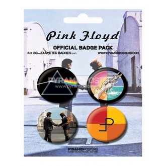 Button - Pink Floyd - BP80091 - Pyramid Posters