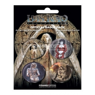 Button - Luis Royo - BP80132 - Pyramid Posters