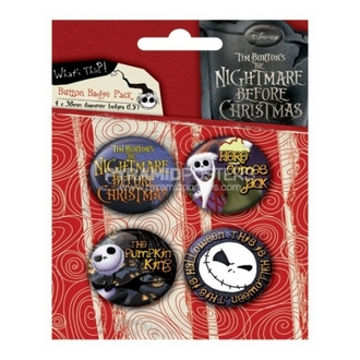 Button - Nightmare Before Christmas (Jack) - BP80303 - Pyramid Posters