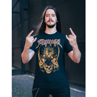 Herren T-Shirt Skeletonwitch - Blackened Heart - Schwarz - INDIEMERCH, INDIEMERCH, Skeletonwitch