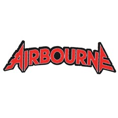 Aufnäher AIRBOURNE - LOGO CUT-OUT - RAZAMATAZ, RAZAMATAZ, Airbourne