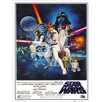 Poster - Star Wars Episode 4 - One Sheet B - FP1419 - GB posters