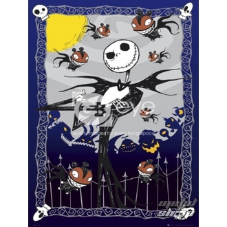 Poster - NIGHTMARE BEFORE CHRISTMAS  - Glow - FP2155, NIGHTMARE BEFORE CHRISTMAS