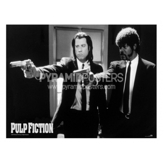 Poster - Pulp Fiction (B&W Guns) - GPP51003 - Pyramid Posters