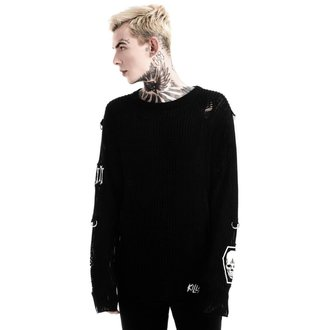 Unisex Pullover KILLSTAR - Haight You Knit - Schwarz, KILLSTAR