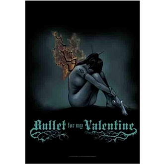 Flagge Bullet For My Valentine - Burning Wings, HEART ROCK, Bullet For my Valentine
