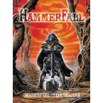 Fahne Hammerfall - Glory to The Brave - HFL250