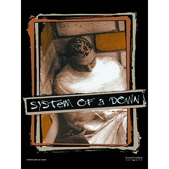 Fahne SOAD., HEART ROCK, System of a Down