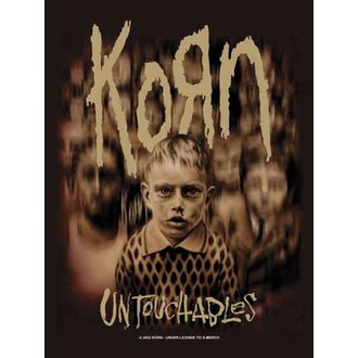 Fahne KORN - Blurry Kids - HFL460