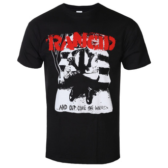 Herren T-Shirt Metal Rancid - And Out Come The Wolves - KINGS ROAD, KINGS ROAD, Rancid