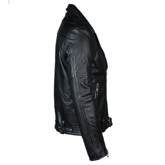 Lederjacke - Commando Blk Nick - STRAIGHT TO HELL, STRAIGHT TO HELL