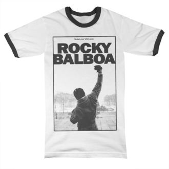 Herren T-Shirt Film Rocky - It Ain´t Over Ringer - HYBRIS, HYBRIS, Rocky