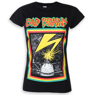 Damen T-Shirt Metal Bad Brains - PLASTIC HEAD - PLASTIC HEAD, PLASTIC HEAD, Bad Brains