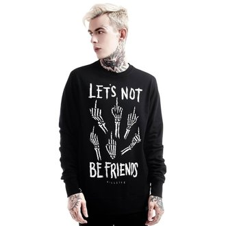 Unisex Sweatshirt KILLSTAR - Let's Not - Schwarz, KILLSTAR