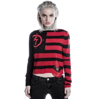 Damen Pulli KILLSTAR - MARILYN MANSON - Little Horn - Schwarz, KILLSTAR, Marilyn Manson