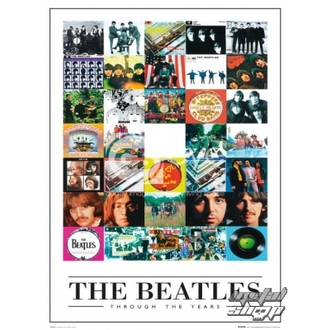 Poster - The Beatles - Through the Years - LP0594 - GB posters