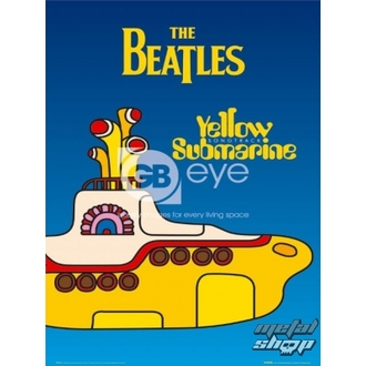 Poster - The Beatles - Yellow Submarine Cover - LP0614 - GB posters
