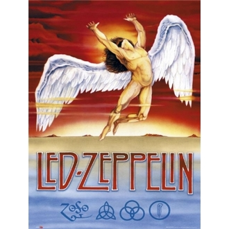 Poster - Led Zeppelin - Swansong - GB Posters - LP0875